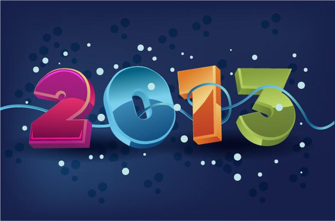 Happy new year (2013)!